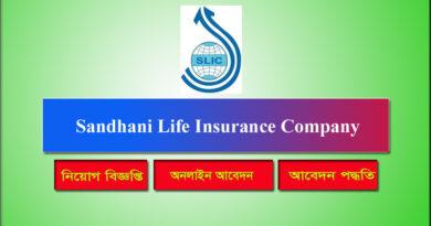 Sandhani Life Insurance Company Job Circular 2021