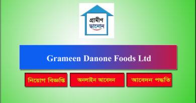 Grameen Danone Foods Ltd Job Circular 2021