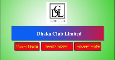Dhaka Club Limited Job Circular 2021