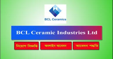 BCL Ceramic Industries Ltd