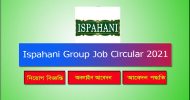 Ispahani Group Job Circular 2021