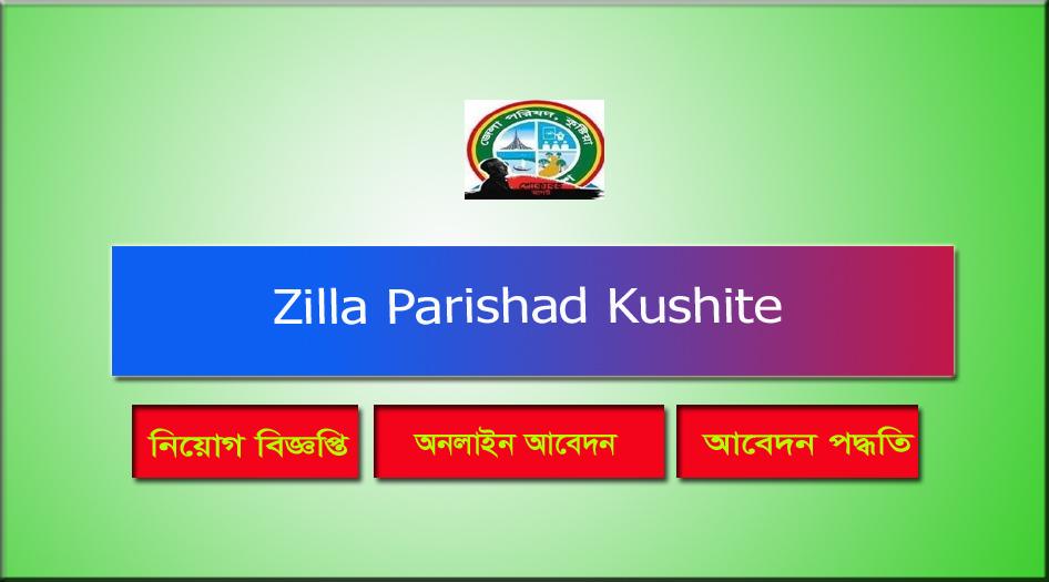 Zilla Parishad Kushite Job Circular 2021